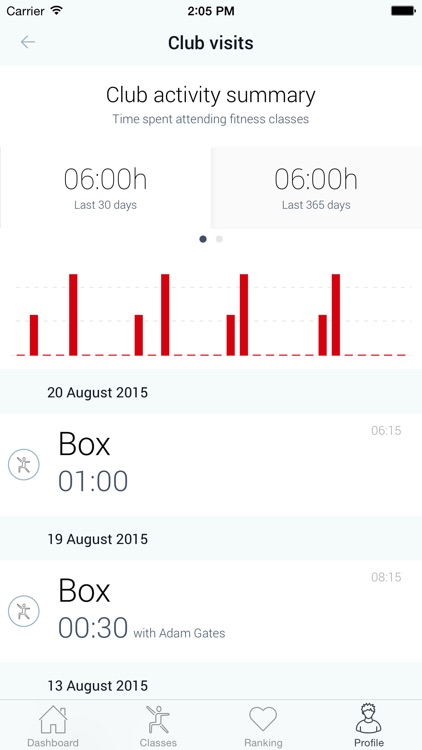 Arena Group Fitness Innovation screenshot-4