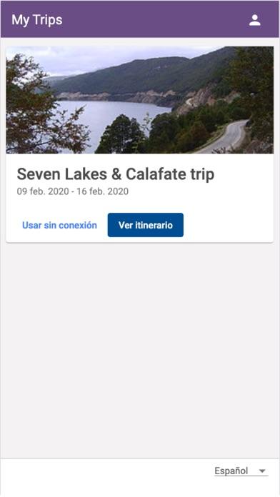 My Trip AppCaptura de pantalla de2