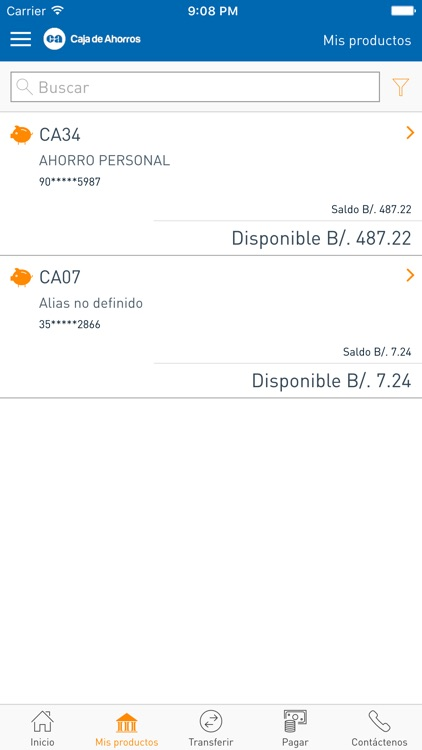 Banca Móvil CA screenshot-2