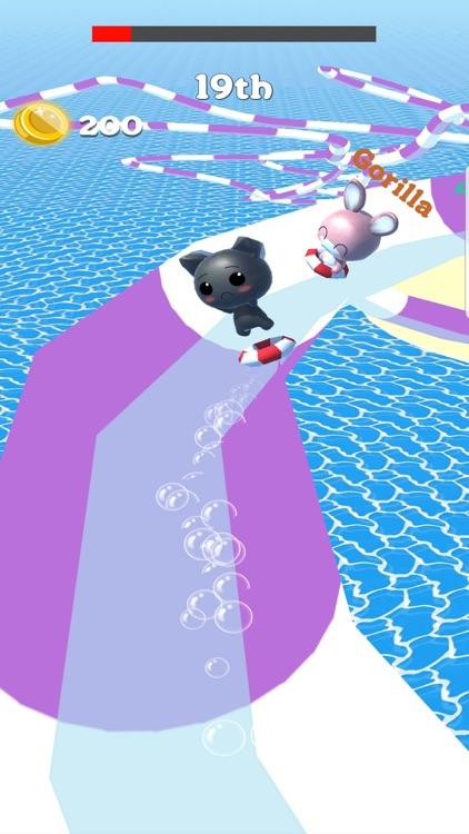 Water Slide Park Cat: Aquapark screenshot-4