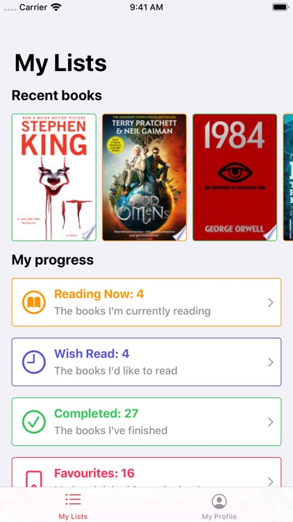 Must Read – The Book Tracker