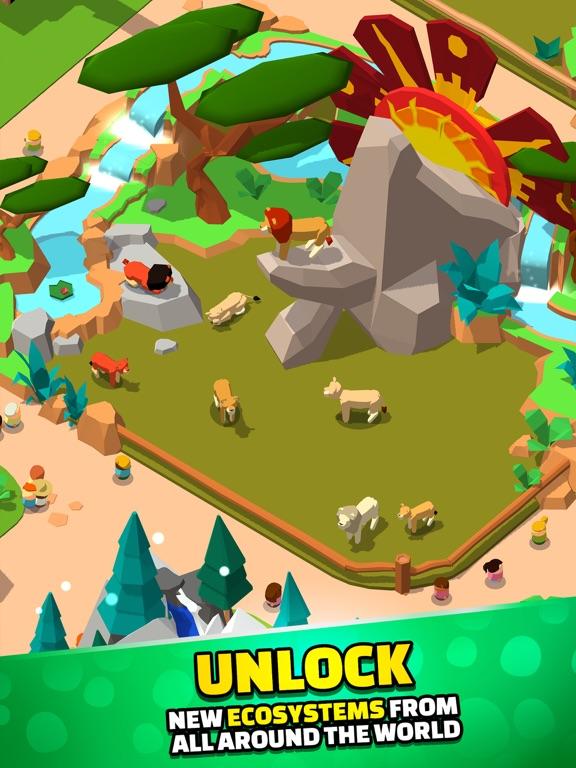 Idle Zoo Tycoon 3D iPad app afbeelding 5