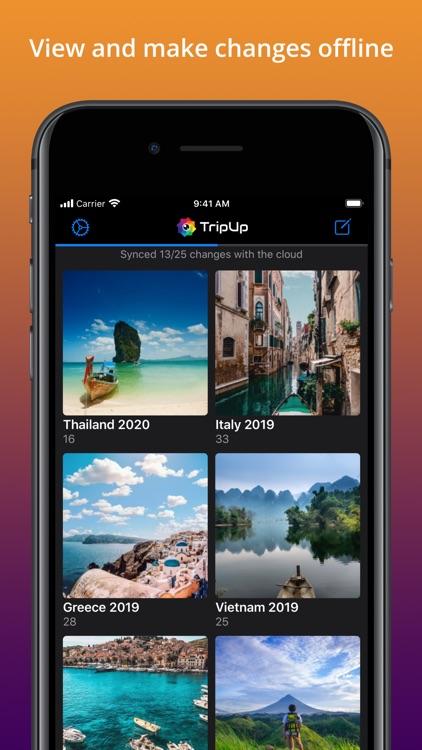 TripUp – Private Photo Sharing screenshot-5