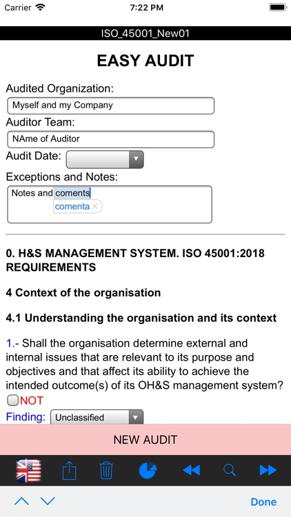 Easy ISO and OHSAS Audits screenshot-7