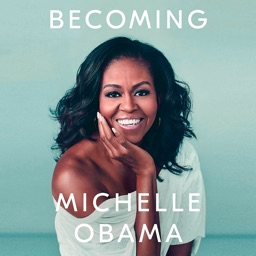 Becoming audiobook by Michelle