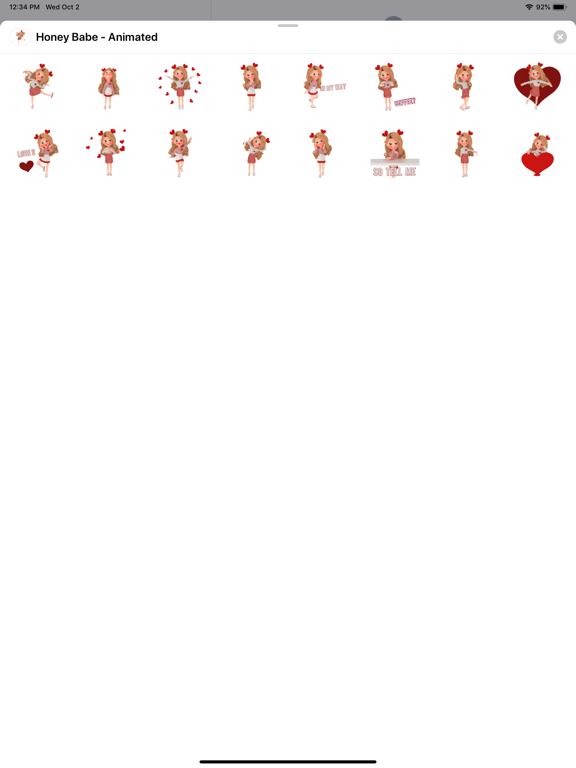 Honey Babe - Animated screenshot 2