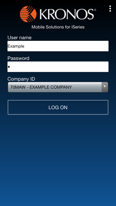 Kronos Mobile for iSeries by Kronos Incorporated (iOS, United States