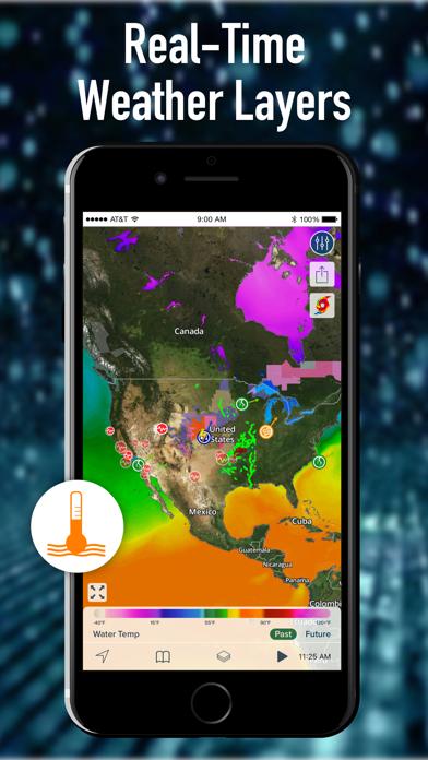Noaa Hi Def Radar Pro Weather review screenshots