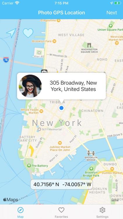 Photo GPS Location