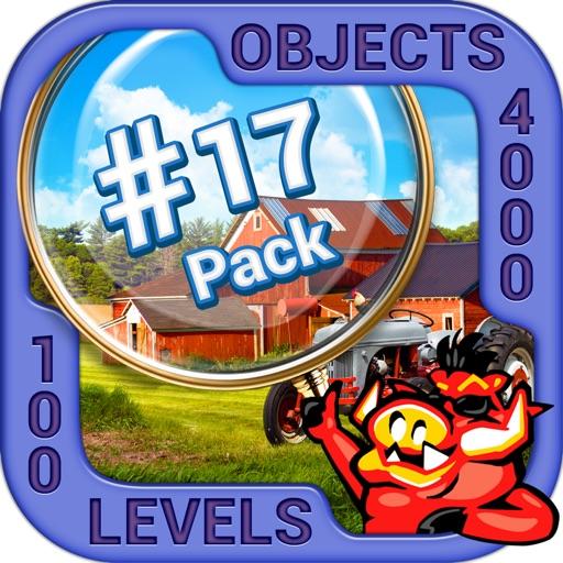 Pack 17 -10 in 1 Hidden Object