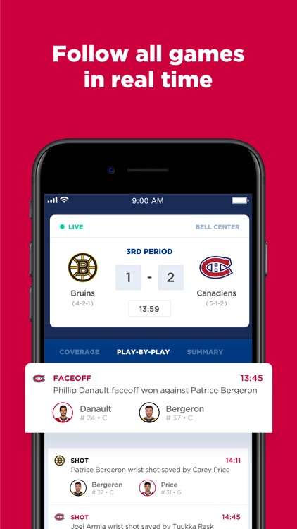 Montréal Canadiens screenshot-2