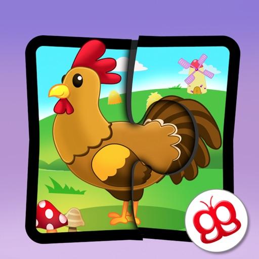 Farm Jigsaw Puzzles iPad Lite icon