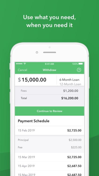 Kabbage: Small Business Loans screenshot-4