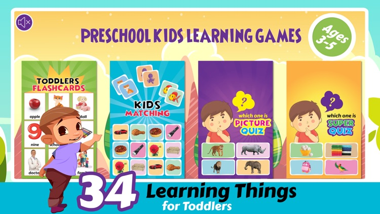 Pre K Preschool Learning Games screenshot-0