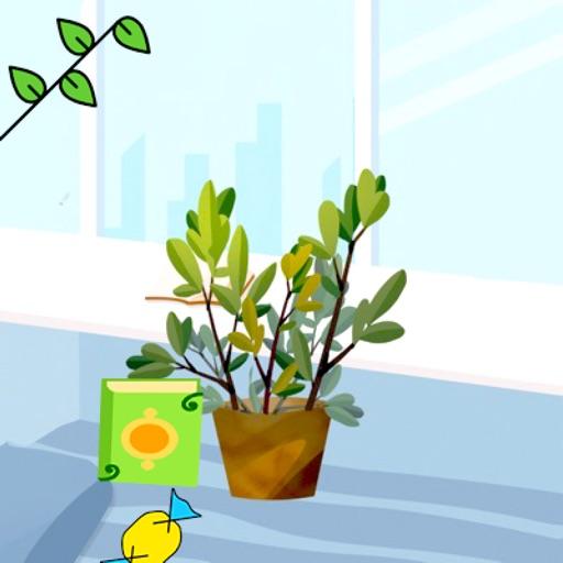 花盆与花STICKER