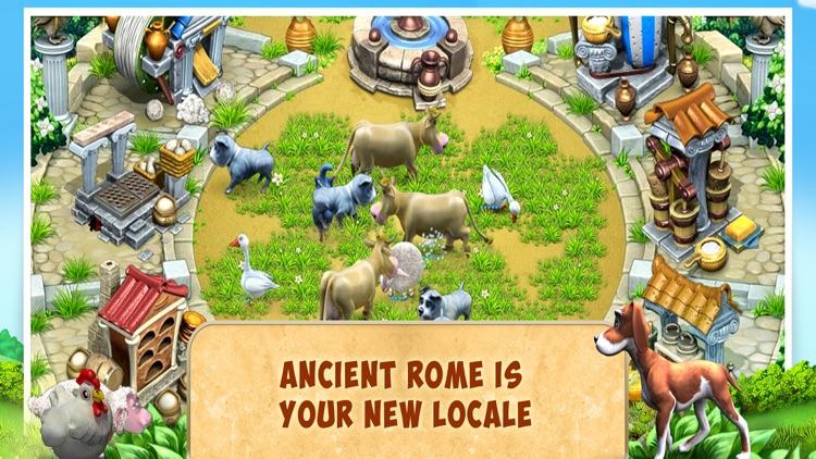 Farm Frenzy 3 Ancient Rome