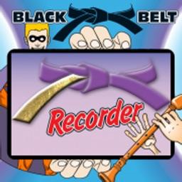 BB Recorder Purple Belt App