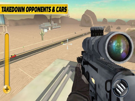 Sniper Destroy Highway Crime screenshot 5