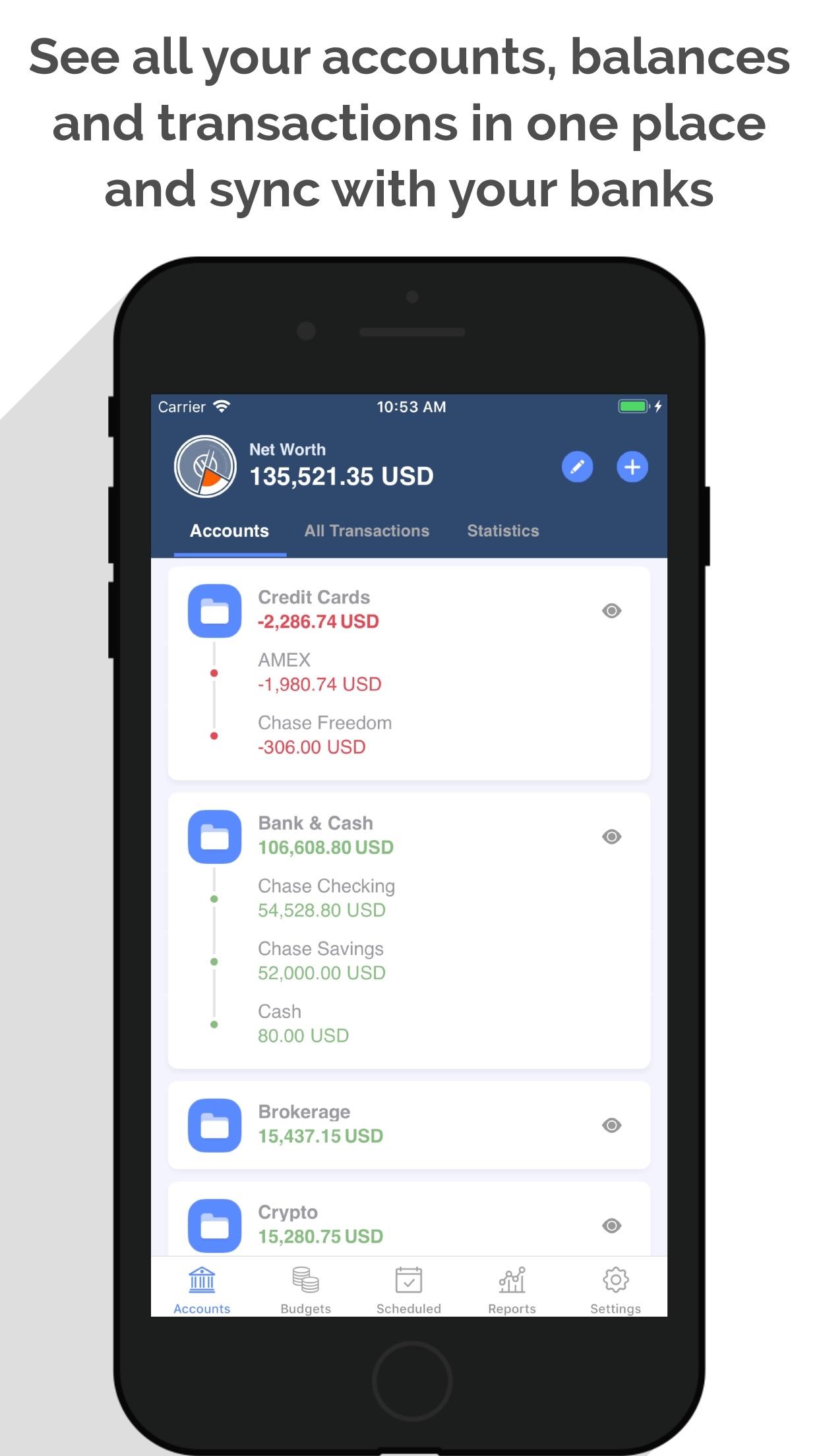 MoneyWiz 3 - Personal Finance Screenshot