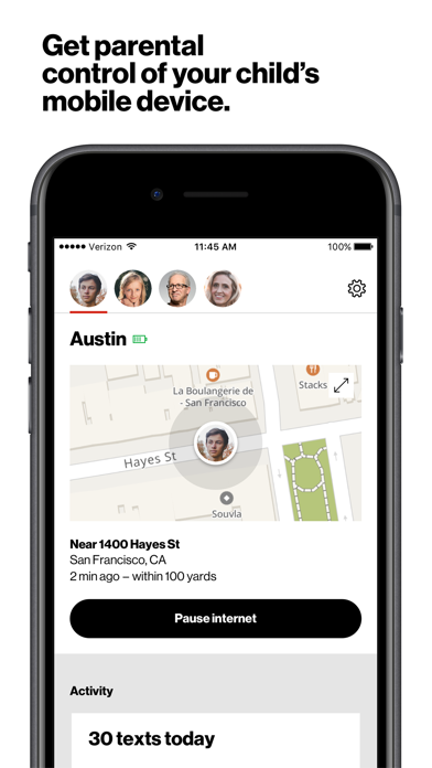 Verizon Smart Family™ app image