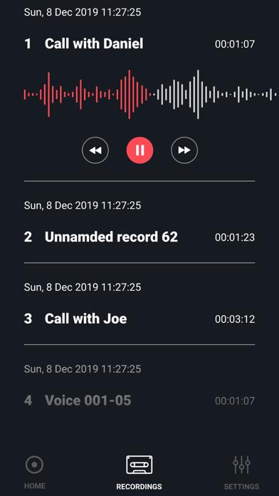 Call Record screenshot #5