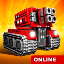 Blocky Cars Online - tank wars