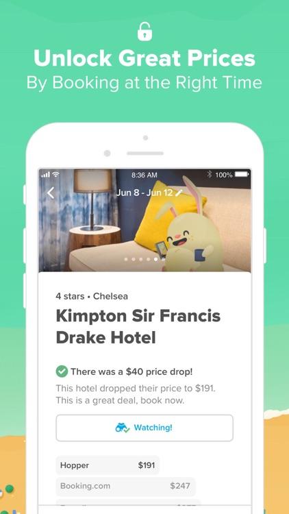 Hopper - Book Flights & Hotels screenshot-7