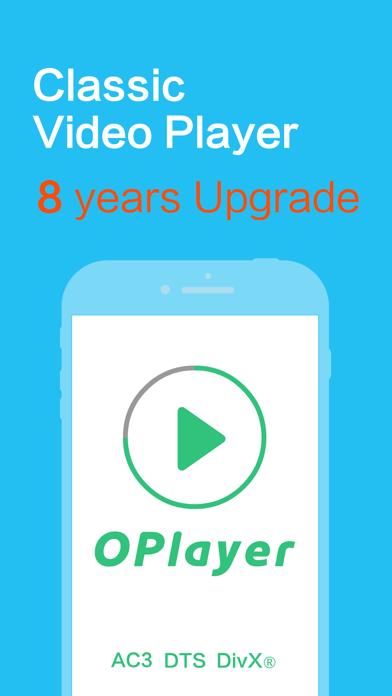 Скриншот №1 к OPlayer Lite - видео плеер