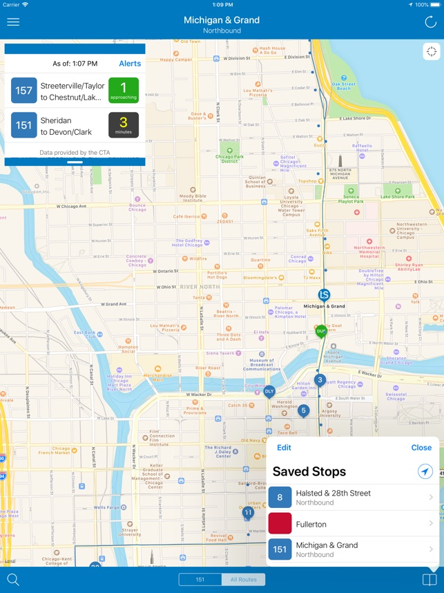 Transit Stop: CTA Tracker. on the App Store on