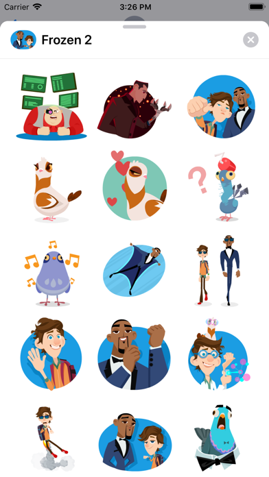 Spies in Disguise Stickers screenshot 3