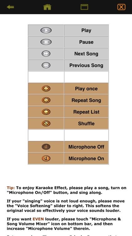 Karaoke Easy Listening Player screenshot-9