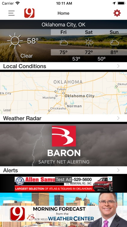 News 9 Weather screenshot-3