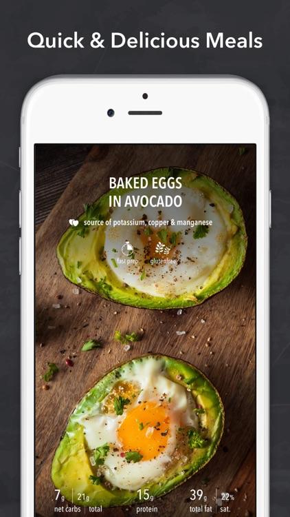 Keto Diet Recipes + Carb App screenshot-8