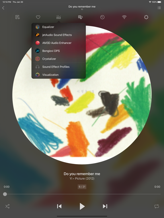 jetAudio - Music Player with Hi-Res Audio Playback, Hi-Def Sound Enhancers (AM3D, Bongiovi DPS, Crystalizer) screenshot