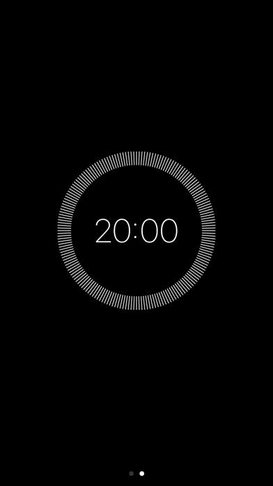 Simple Meditation Timer screenshot two