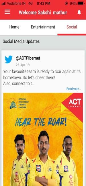 ACT Fibernet on the App Store