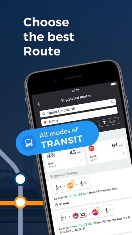 Moovit: Train & Bus Times
