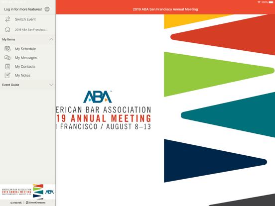 ABA Annual & Midyear Meetings-ipad-2