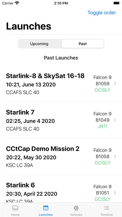 SpaceX Explorer screenshot 5