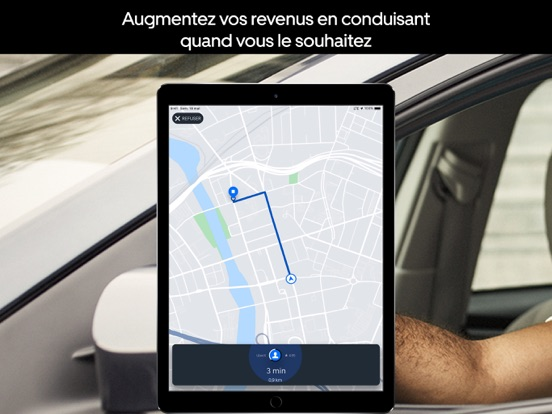 Screenshot #4 pour Uber Driver - pour chauffeurs