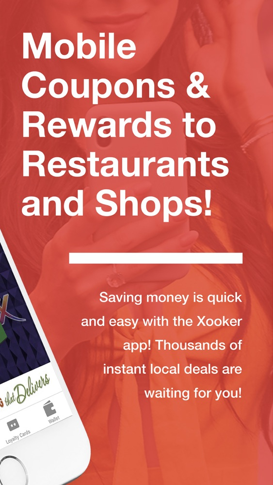 Xooker – Coupons & Rewards App for iPhone - Free Download Xooker