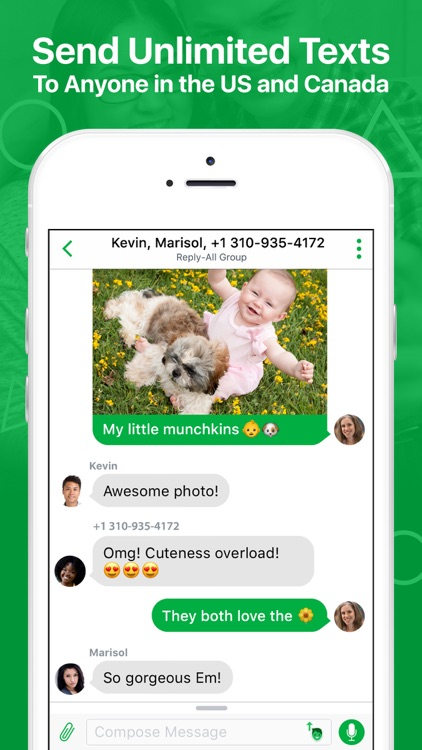 textPlus: Unlimited Text+Calls by textPlus, Inc