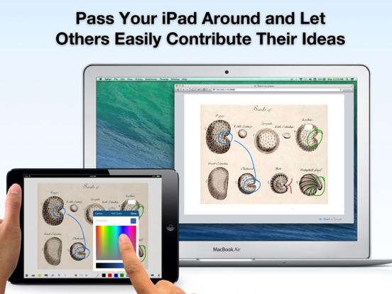 Air Sketch Wireless Whiteboard Screenshots