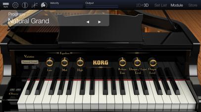 KORG Module Proのスクリーンショット