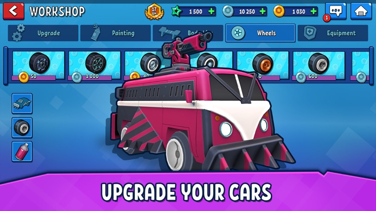 Rage of Car Force: Crash Road screenshot-4