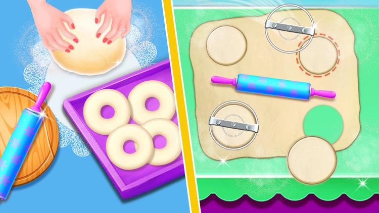 Donut Baking & Cooking Game