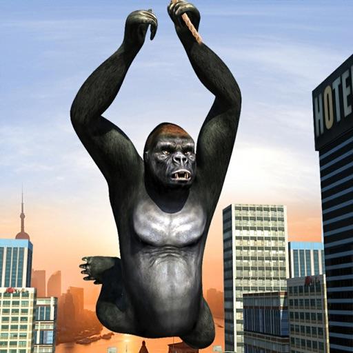 Gorilla Rope Hero Vice Town 3d