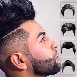 Men beard photo editor Mustach