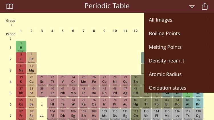 Periodic Table Study Lite screenshot-3