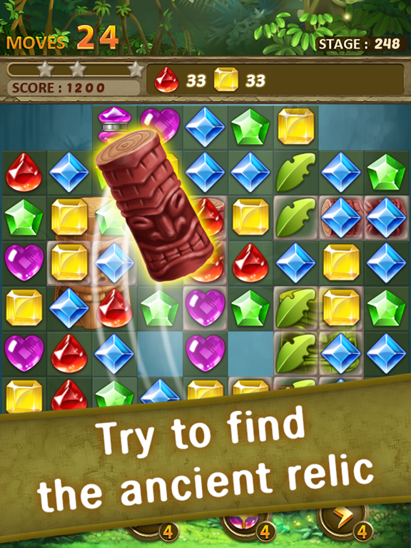 Jewels Jungle : Match 3 Puzzle screenshot 15